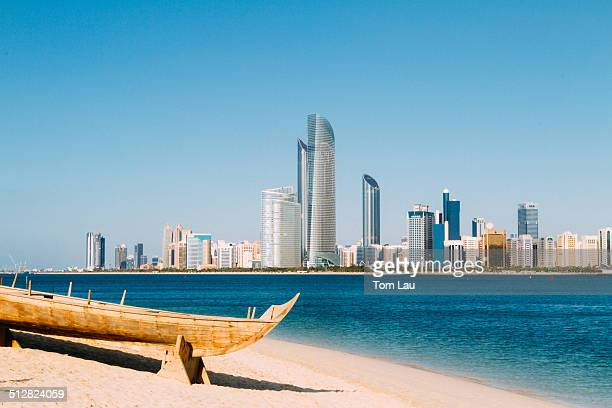 Traditional boat in Abu Dhabi