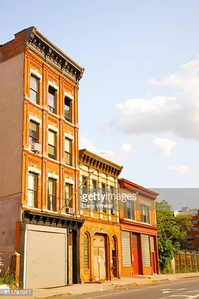 Traditional Brooklyn apartments above industry