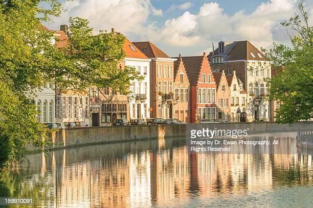 Traditional Brugge Buildings