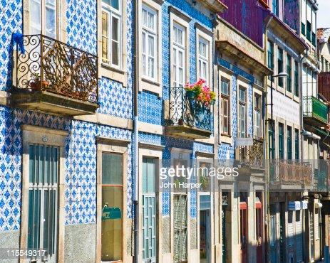 Traditional Buildings, Porto, Portugal