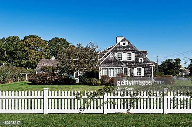 Traditional Cape Cod style house