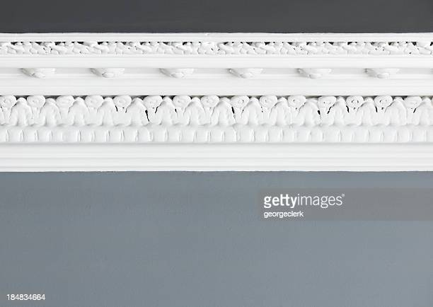 Des moulures au plafond