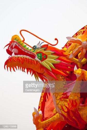 Traditional Chinese dragon lanterns