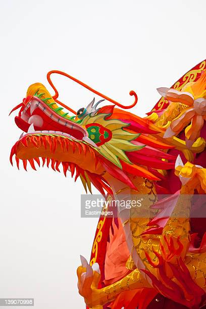 Traditional Chinese dragon lanterns