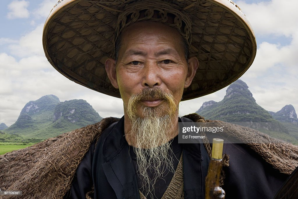 Traditional Chinese Fisherman