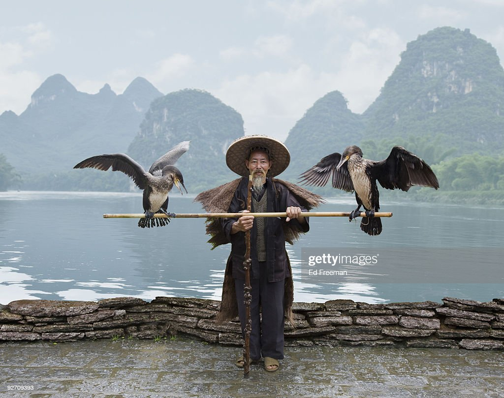 Traditional Chinese Fisherman