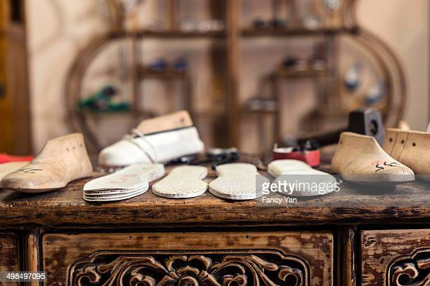 traditional Chinese hand made cloth shoes