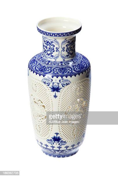 Traditional Chinese vase