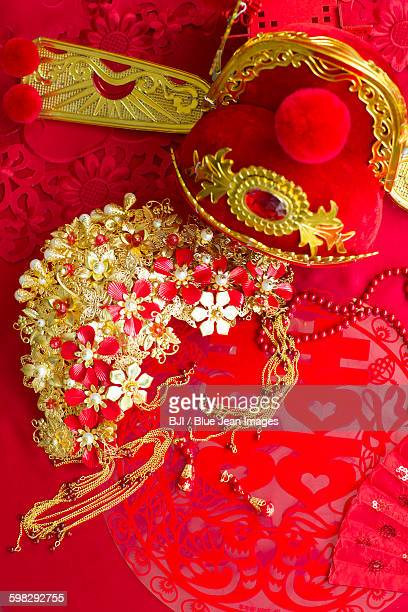 Traditional Chinese wedding elements
