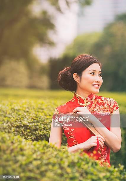 伝統的な中国の女性