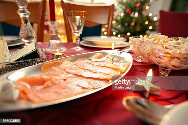 traditional christmas eve meal in germany
