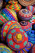 Traditional colorful baskets,Bali