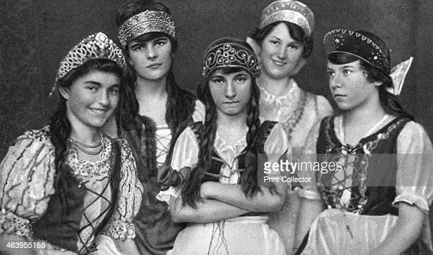 Traditional costumes worn by Hungarian women Hungary 1922 From Peoples of All Nations Their Life Today and the Story of Their Past volume IV Georgia...