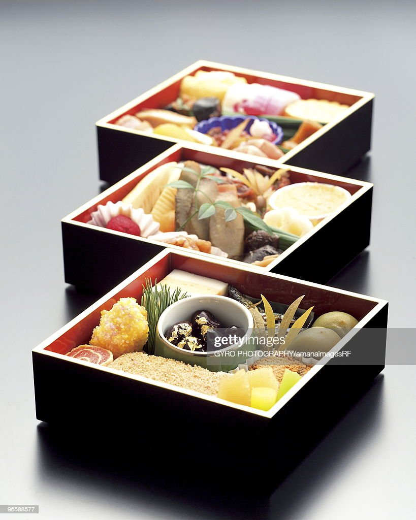 Traditional dishes served in Japan on New Year's Day