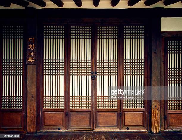 Traditional door