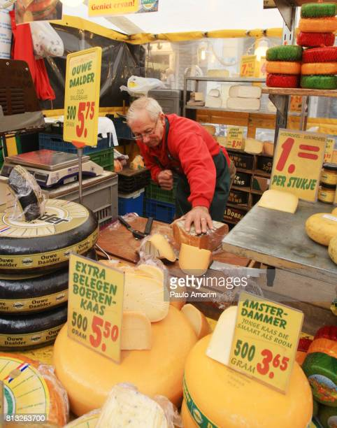 Traditional  Dutch Cheese in Amsterdam