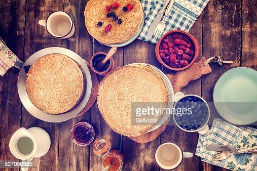 Traditional Dutch Pancakes - Pannenkoeken CNEUFOO595