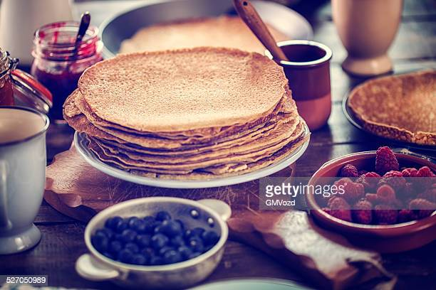 Traditional Dutch Pancakes - Pannenkoeken CNEUFOO595