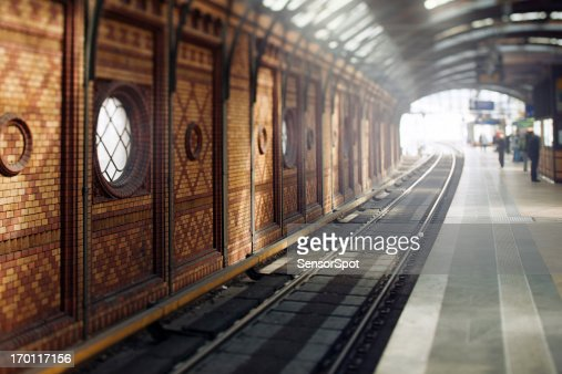 Traditional East Berlin Station