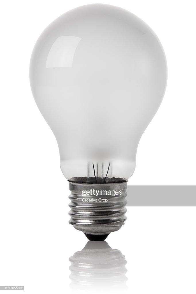 Traditional electric lightbulb : Stock Photo