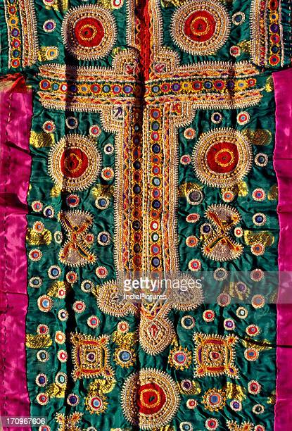 Traditional embroidery of Gujarat India