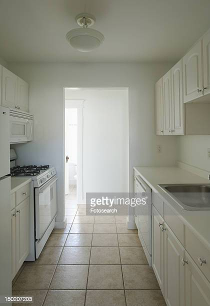 Traditional empty kitchen