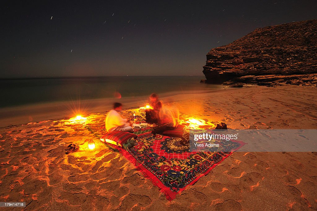 Traditional evening in Oman