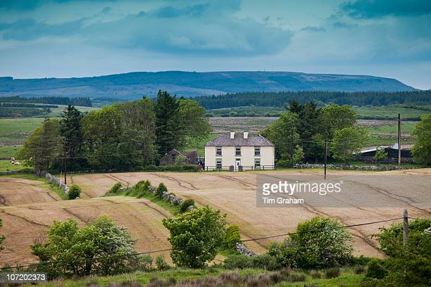 Traditional farmhouse in smallholding in County Clare Ireland
