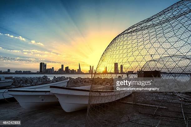 'Traditional Fish-Trap', Muharraq, Bahrain (Infrar