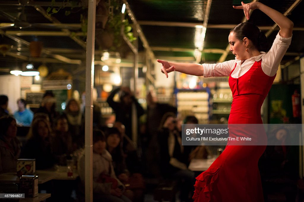 Traditional Flamenco dancer, Seville, Spain