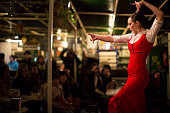 Traditional Flamenco dancer, Seville, Spain