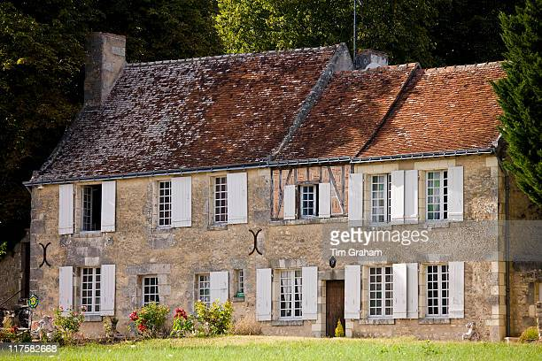 Traditional French Gite chambres d'hote in idyllic setting near Azay le Rideau Loire Valley France