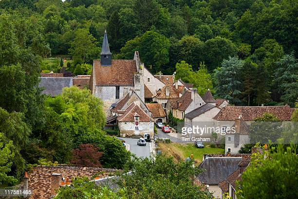 Traditional French village of Angles Sur L'Anglin Vienne near Poitiers France