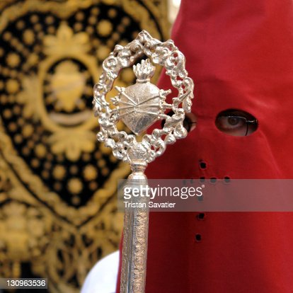 Traditional Holy Week Processions : Stock Photo