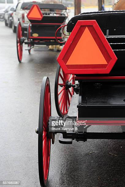Traditional horse carriages