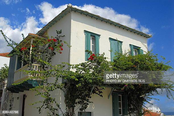 Traditional house at Hora Skopelos