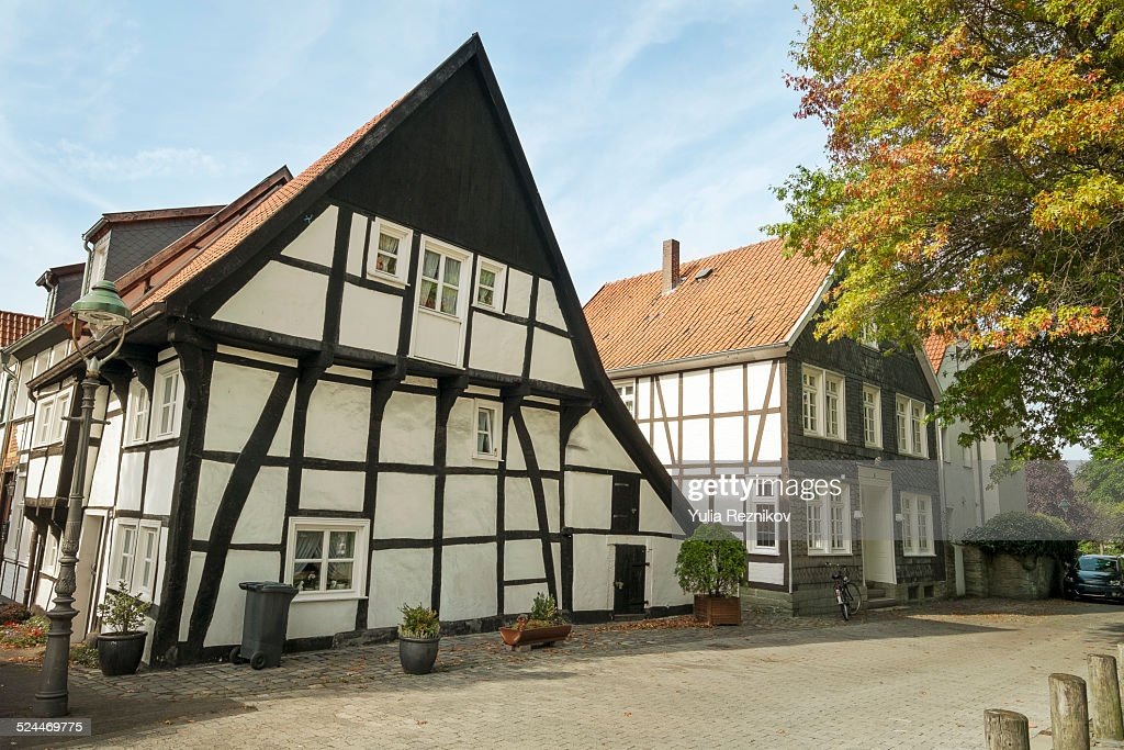 Traditional houses in Soest