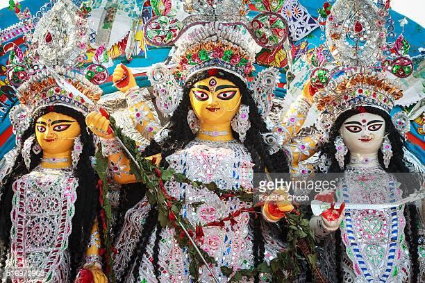 Traditional Idol of Goddess Durga