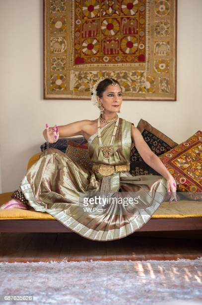 TRaditional Indian Dancer in classical dress