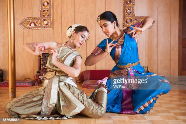 Traditional Indian Dancers in classical dress