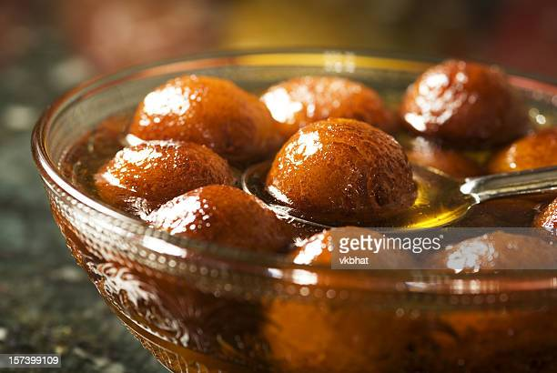 Traditional Indian dessert gulab jamun