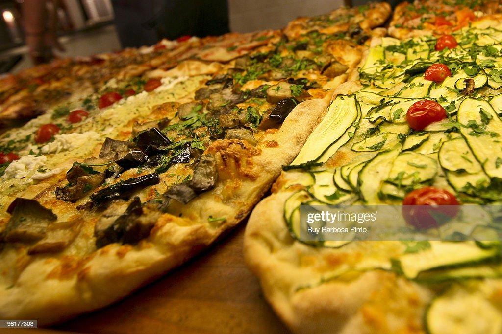 Traditional Italian Pizza  : Stock Photo
