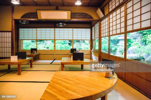 Japan garden stock fotos und bilder getty images for Salle a manger japonaise