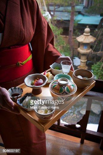 Traditional Japanese cuisine : Foto de stock