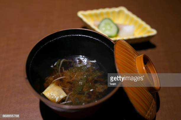 Traditional Japanese Food, Kaiseki, Miso Soup