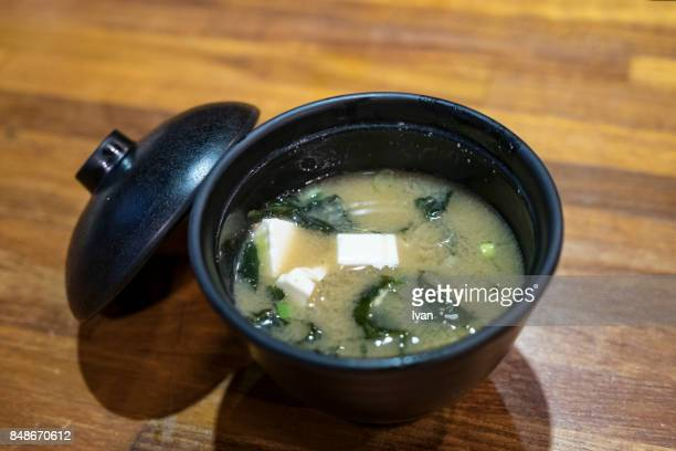 Traditional Japanese Food, Miso soup