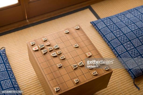 Traditional Japanese game of shogi