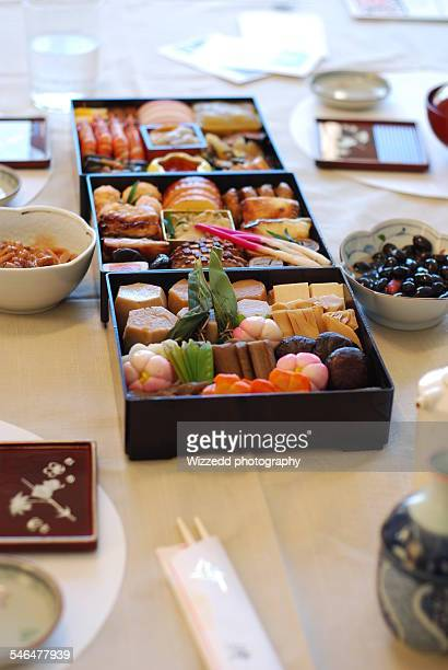 Traditional Japanese New Year's 'Osechi'