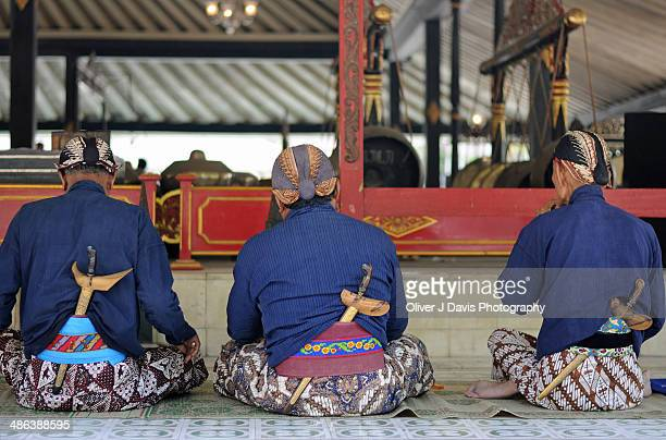 Traditional Javanese Dress at the Sultan's Palace