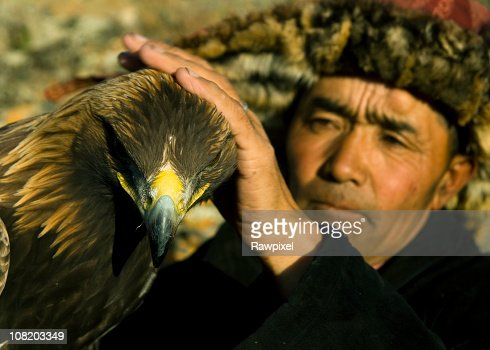 Eagle Hunter : Stock Photo
